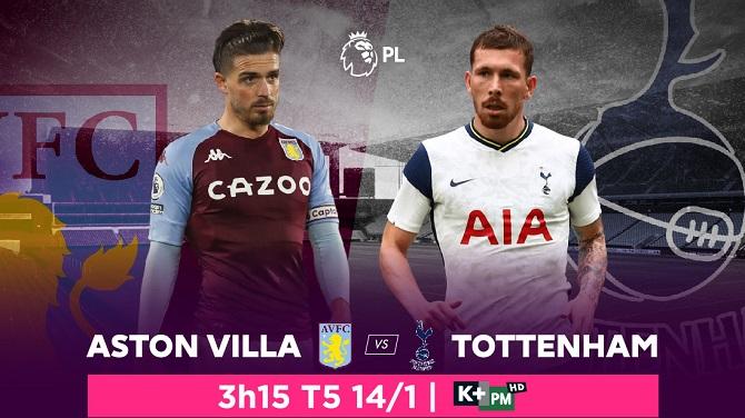 Tottenham chạm trán Aston Villa