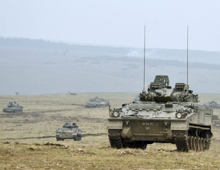 Lục quân Hoàng gia Anh sẽ chưa thể sớm có xe thiết giáp thế hệ mới. Ảnh: Janes Defense.