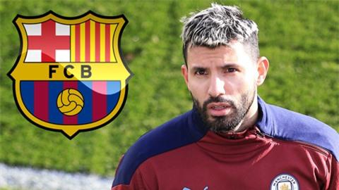 Nhắm mua Aguero, Barca tính 'nhất tiễn hạ song điêu'