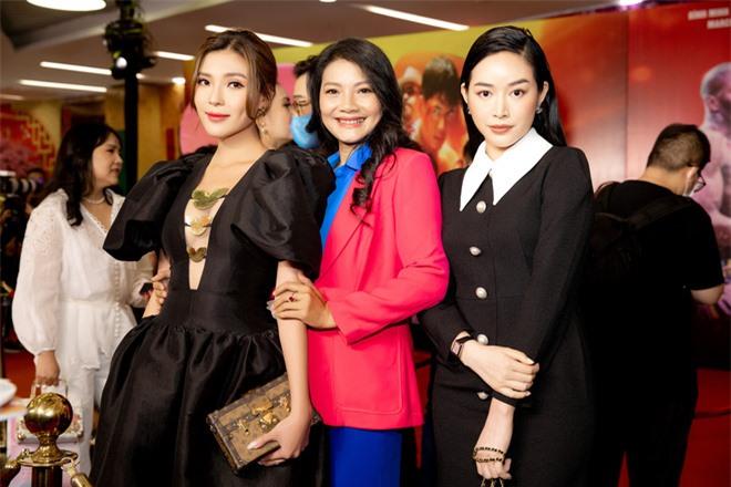 Thúy Diễm nổi bật tại sự kiện, khen phim mới của Bình Minh - Ảnh 4.