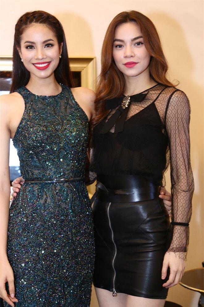Vẻ gợi cảm của hai hoa hậu Việt có sức hút đặc biệt trong mắt Hồ Ngọc Hà - Ảnh 4.