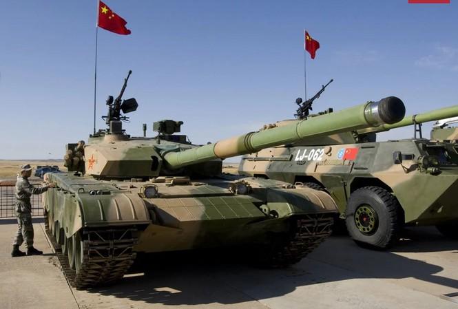 Xe tăng Type 99 của quân đội Trung Quốc.
