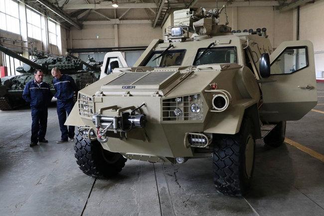 Xe bọc thép chở quân Dozor-B của Ukraine. Ảnh: Defense Express.