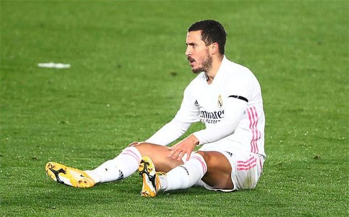Hazard đã đánh mất mình ở Real