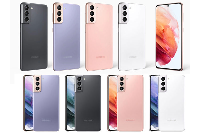 Samsung Galaxy S21 5G.