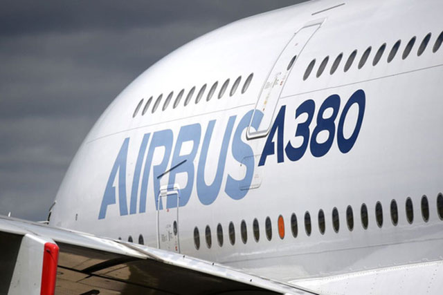 Chiếc A380 của Airbus. Ảnh: Forbes.