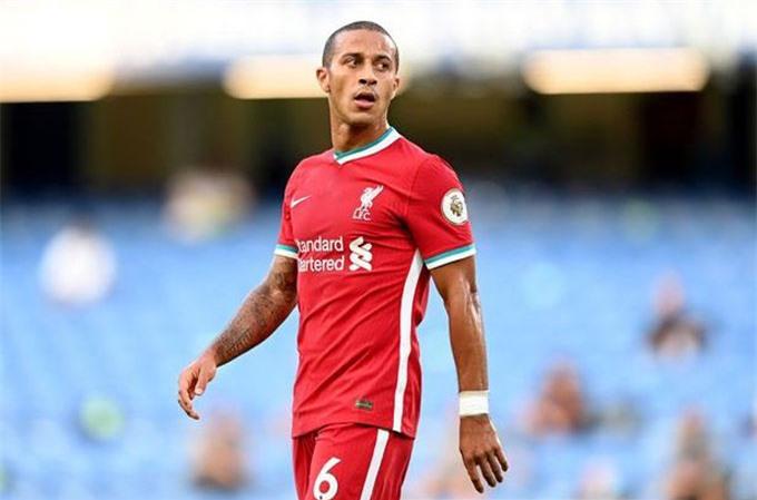 Việc Thiago có đá chính ở trận Liverpool vs M.U vẫn rất khó đoán
