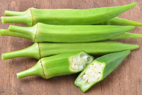 """Đậu bắp được mệnh danh là """"vua"""" của các loại rau"""