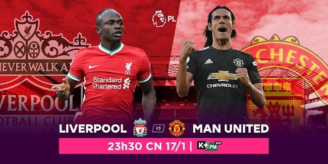 Đại chiến Ngoại hạng Anh giữa hai người khổng lồ Manchester United vs. Liverpool, trực tiếp trên VTVcab ON