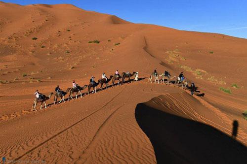 Sa mạc nào rộng hơn 9 triệu km2, nóng nhất Trái Đất?