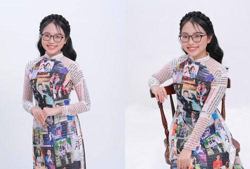 Phương Mỹ Chi khoe chiếc áo dài 'có một không hai' khiến Hoa hậu Khánh Vân phải 'thả tim' lia lịa