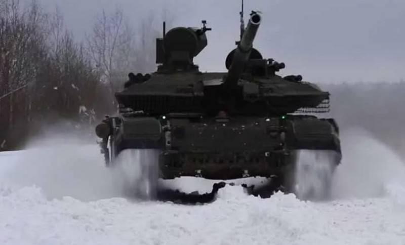 Xe tăng chiến đấu chủ lực T-90M Proryv-3 của Quân đội Nga. Ảnh: RIA Novosti.