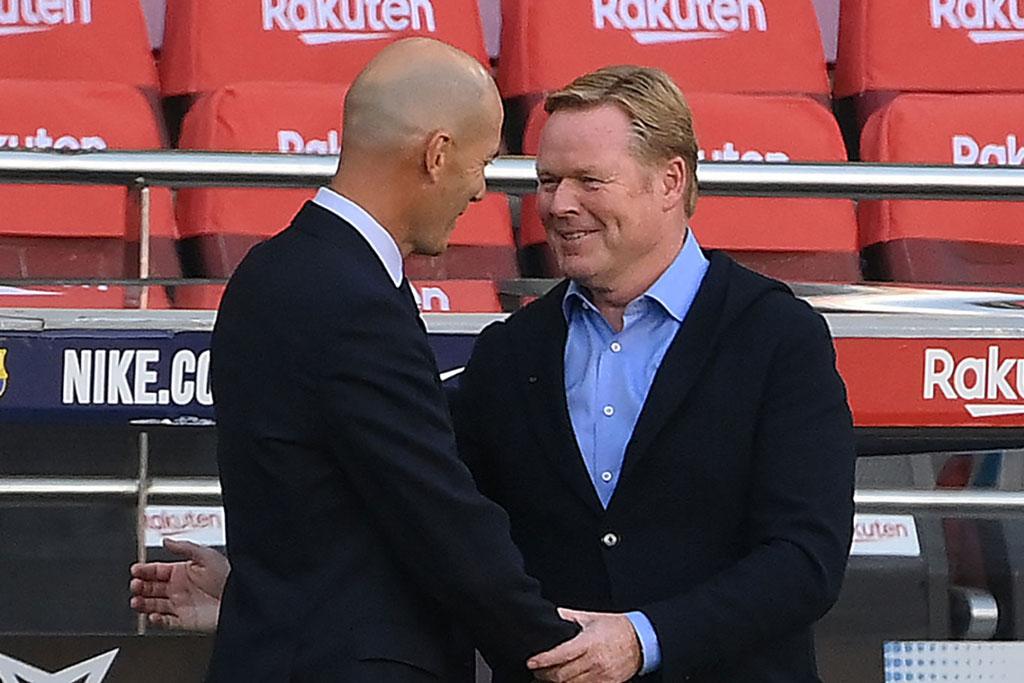 Huyền thoại chê Zidane kém tài Koeman