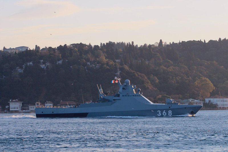 Một tàu chiến khác của Nga tiến đến vùng biển Syria