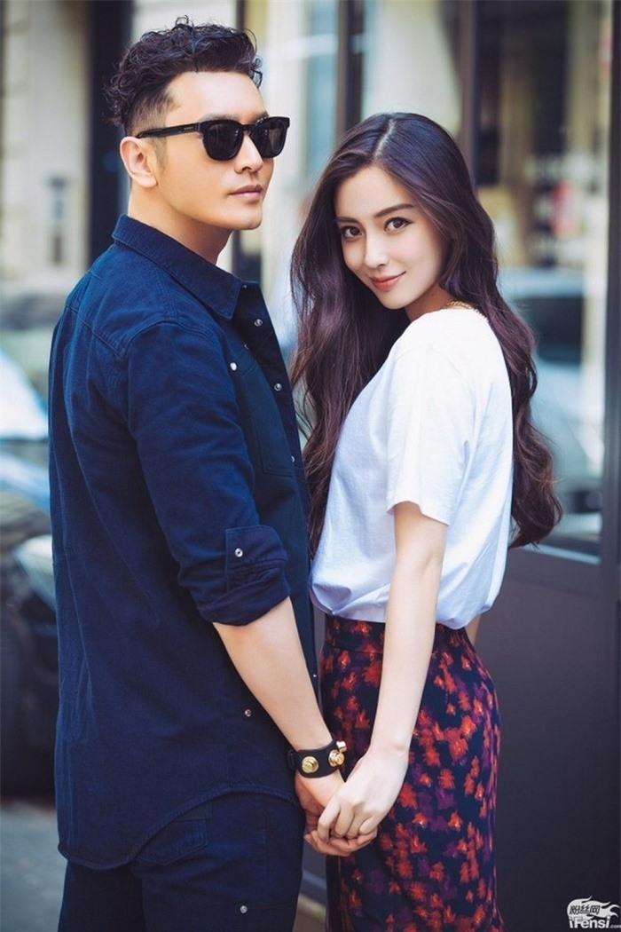 Huỳnh Hiểu Minh bênh vực vợ Angelababy trước tin giật bồ