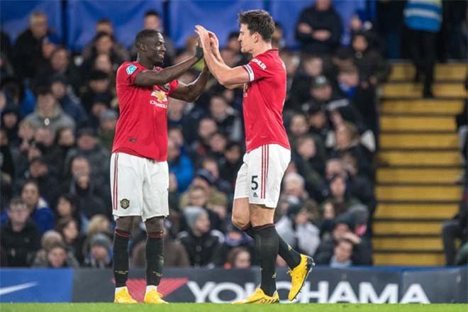 Cặp Bailly - Maguire đang được đánh giá là cặp Vidic - Ferdinand mới của Man United