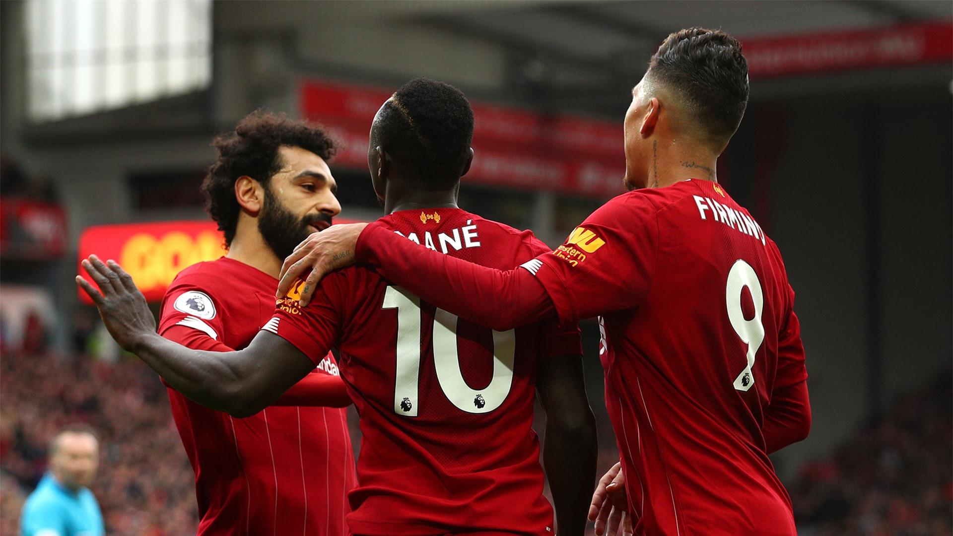 Tam tấu Mane - Salah - Firmino của Liverpool vẫn là hàng công hay nhất Premier League