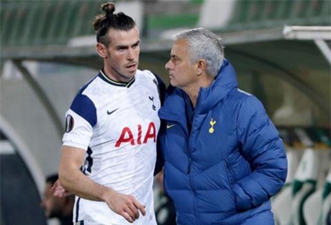 Mourinho và Bale vẫn chưa bàn gì về tương lai của cầu thủ này