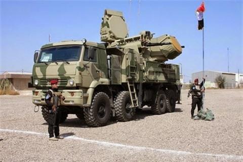 Pantsir-S1 Nga bao ve can cu quan su My tai Iraq