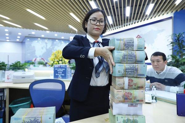 Ngân hàng hưởng lợi lớn từ dòng vốn rẻ