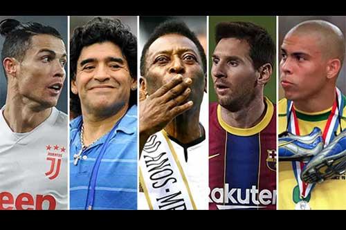 Top 50 cầu thủ vĩ đại nhất lịch sử bóng đá