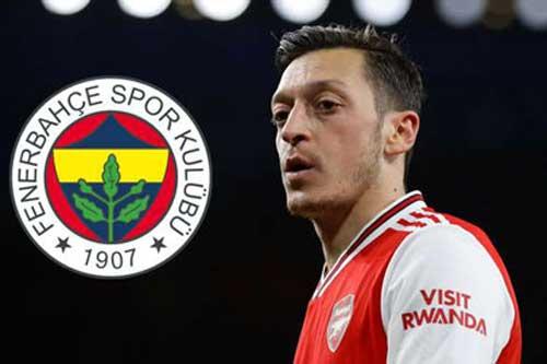 Oezil đạt thỏa thuận chấm dứt hợp đồng với Arsenal
