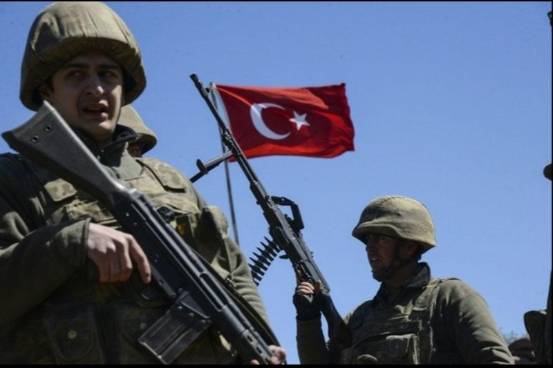 Binh sĩ Thổ Nhĩ Kỳ.