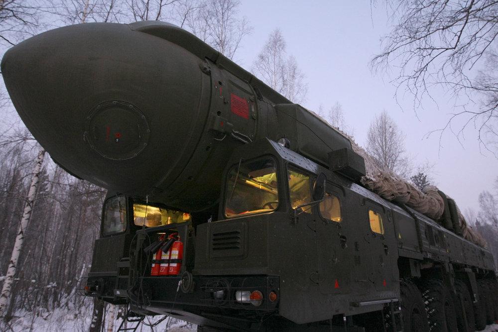 Tên lửa đạn đạo xuyên lục địa của Nga. Ảnh: National Interest.