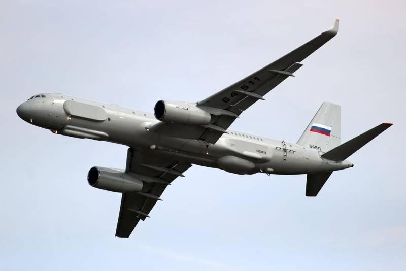 Tu-214ON sẽ trở thành máy bay trinh sát đích thực. Ảnh: RIA Novosti.
