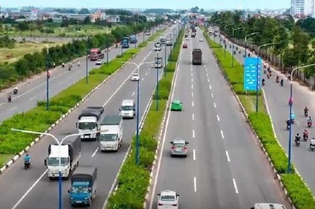Dự án Tạo cảnh quan, chống ùn tắc giao thông trên tuyến đường Mỹ Phước – Tân Vạn