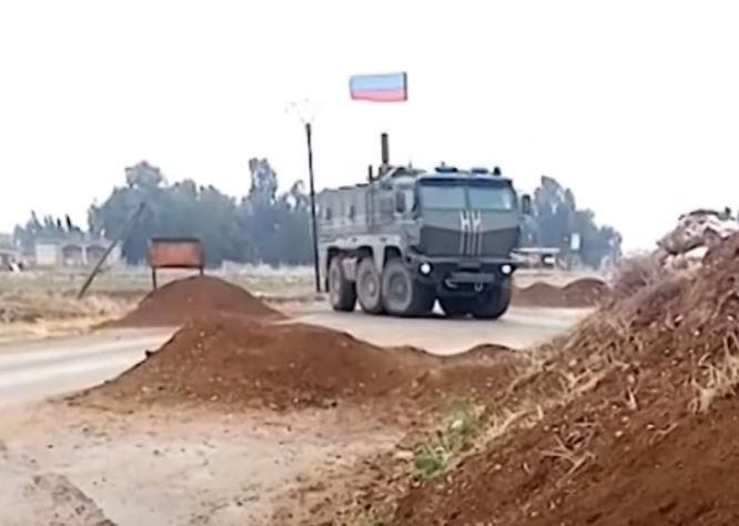 Quân đội Nga bắt đầu triển khai rào chắn dọc theo toàn bộ phần phía Bắc của Syria