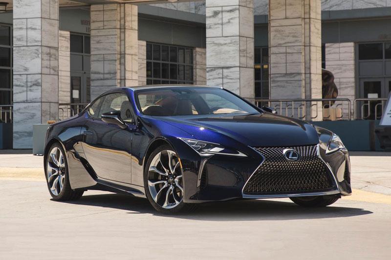 9. Lexus LC 500.