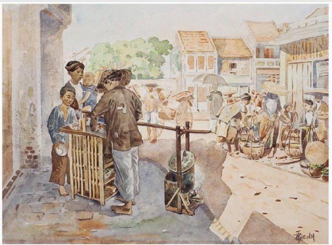 Bo tranh hiem ve canh sinh hoat o mien Bac Viet Nam xua-Hinh-4