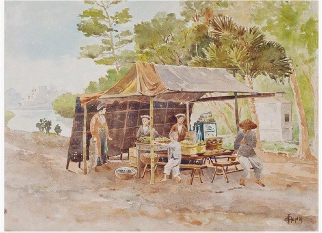 Bo tranh hiem ve canh sinh hoat o mien Bac Viet Nam xua-Hinh-5