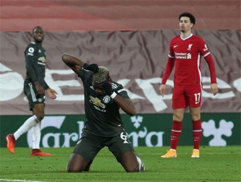 M.U và cá nhân Pogba có lý do để tiếc nuối khi bỏ lỡ cơ hội ghi bàn trong hiệp 2