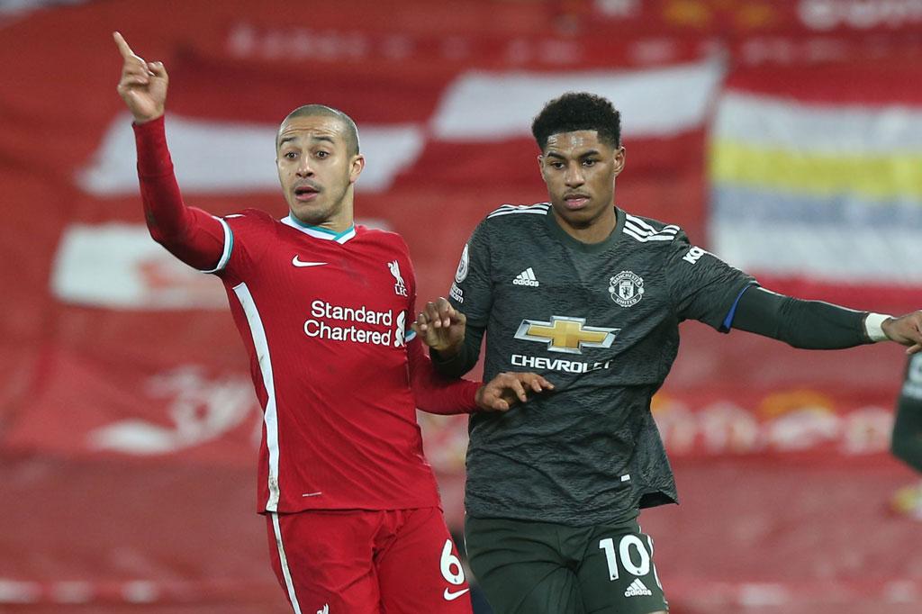 Trận derby nước Anh kết thúc bất phân thắng, bại.