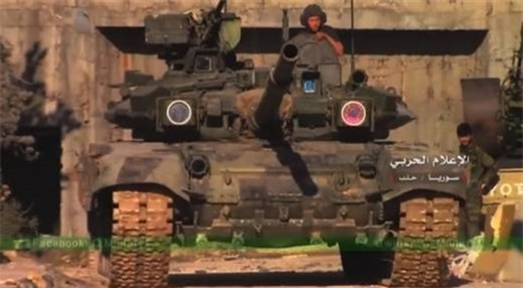Man the hien noi bat cua T-90 tai Syria truoc doi thu