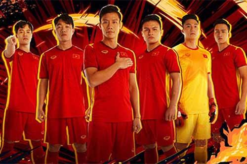 Đội tuyển Việt Nam ra mắt áo đấu mới theo kiểu chưa từng có ở châu Á