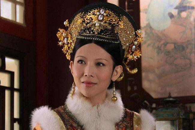 Thái Thiếu Phân trong một cảnh phim Hậu cung Chân Hoàn truyện.