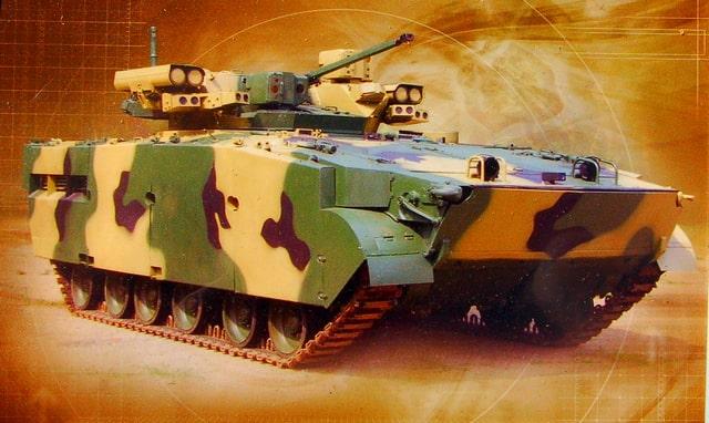 Xe chiến đấu bộ binh Manul của Nga. Ảnh: Vestnik.