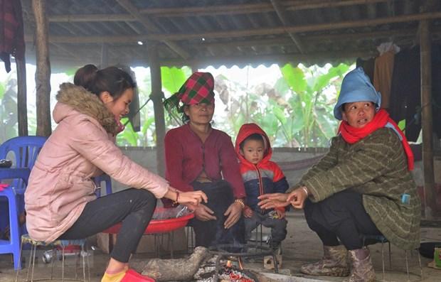 Vùng núi phía Bắc rét hại, nguy cơ Lào Cai, Lai Châu có mưa tuyết