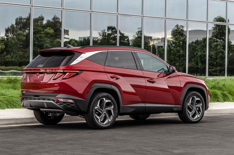 10. Hyundai Tucson (doanh số: 462,110 chiếc).