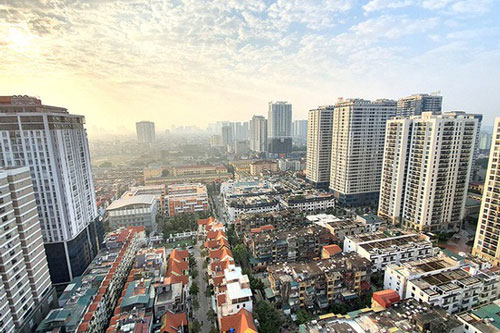 Giao dịch biệt thự liền kề Hà Nội giảm mạnh, giá bán căn hộ tăng