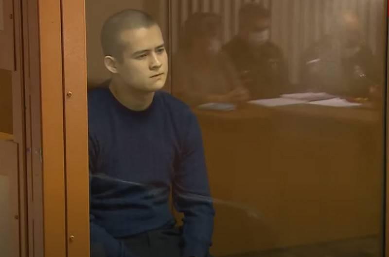 Lính nghĩa vụ Ramil Shamsutdinov - đối tượng đã gây ra vụ xả súng trong doanh trại. Ảnh: TASS.