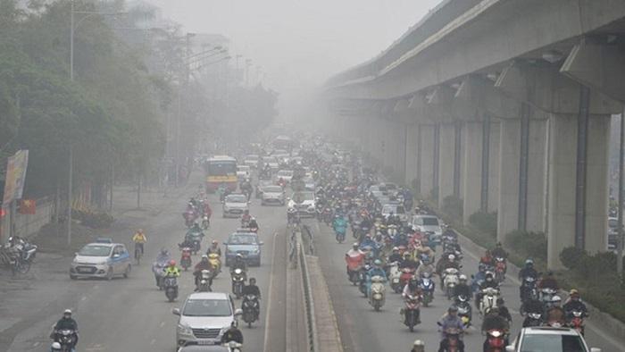 Cần tăng cường kiểm soát ô nhiễm môi trường không khí tại các đô thị lớn.
