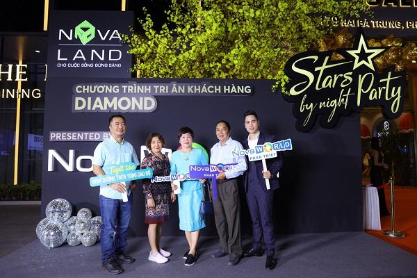 Khách mời đếm tham dự đều là những khách hàng gắn bó lâu năm với Novaland.