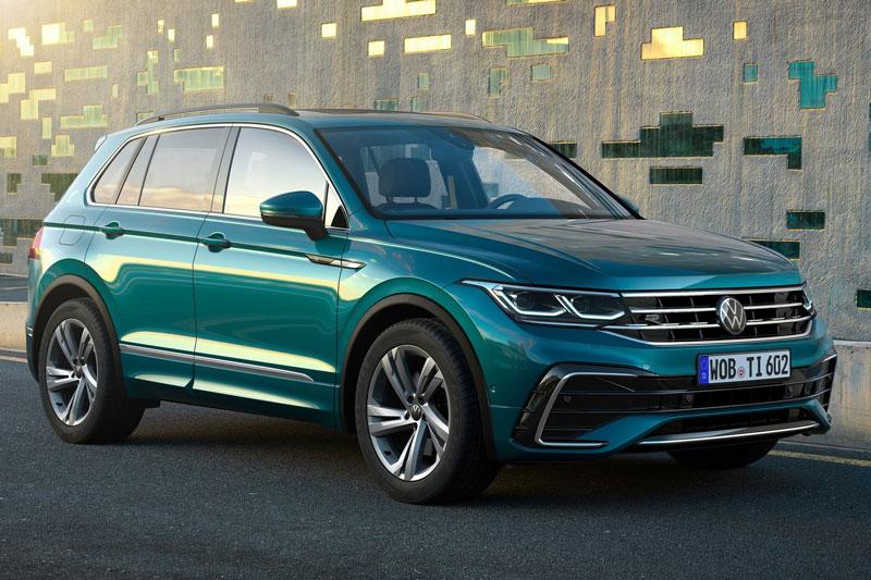 5. Volkswagen Tiguan (doanh số: 607.211 chiếc).