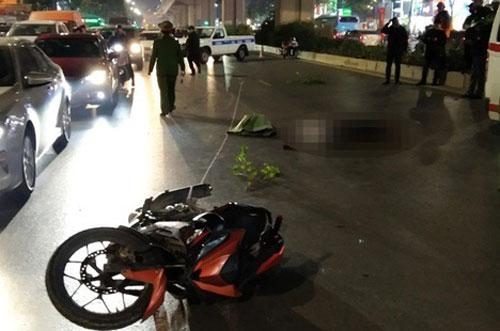 Hà Nội: Tạm giữ thanh niên lái xe máy tông chết 2 người trên đường Nguyễn Trãi