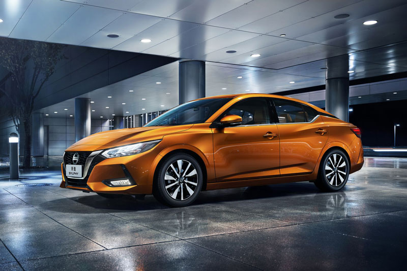 7. Nissan Sylphy (doanh số: 544.376 chiếc).