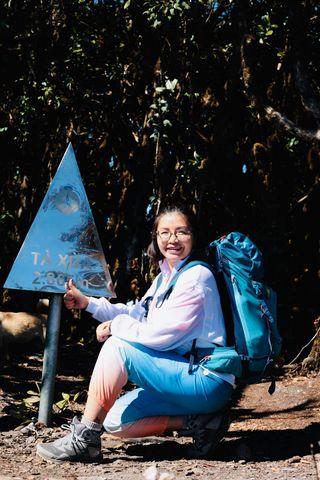 Chị Hạnh một người đam mê du lịch mạo hiểm